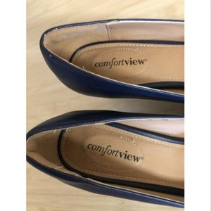 comfortview Shoes - Comfortview Heels 9 1/2 M Shoes Open Toe Blue 9.5M
